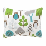 DwellStudio Owls Sky Single Standard Sham