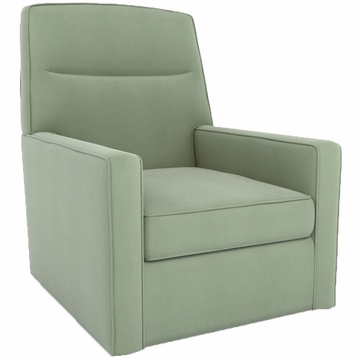 DwellStudio Oxford Glider in Dorosuede Seafoam