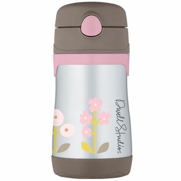 DwellStudio Rosette Blossom 10oz Vacuum Insulated Straw Bottle