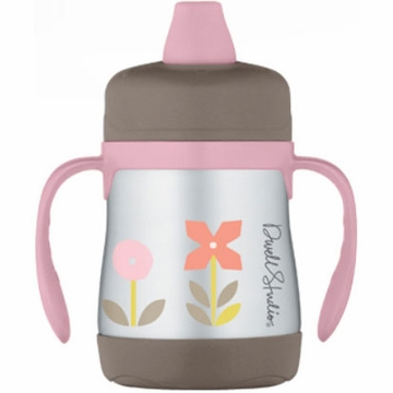 DwellStudio Rosette Blossom 7oz Insulated Soft Spout Sippy Cup