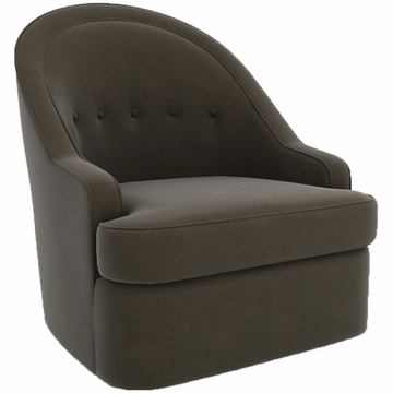 DwellStudio Savoy Glider in Dorosuede Charcoal