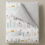 DwellStudio Skyline Light Blue Play Blanket