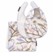 DwellStudio Sparrow Lilac Bib & Burp 3 Piece Set