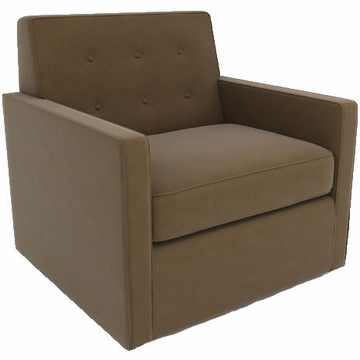 DwellStudio Thompson Glider in Dorosuede Cappuccino