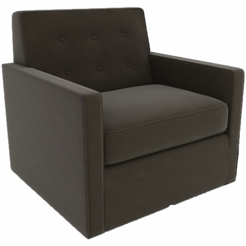 DwellStudio Thompson Glider in Dorosuede Charcoal