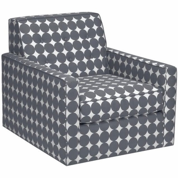 DwellStudio Thompson Glider in Dotscape Charcoal