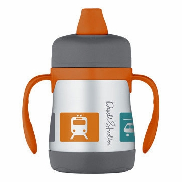 DwellStudio Transportation Multi 7oz Insulated Soft Spout Sippy Cup