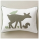 DwellStudio Woodland Tumble Mocha Boudoir Pillow