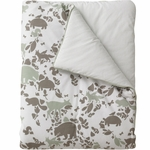 DwellStudio Woodland Tumble Mocha Play Blanket