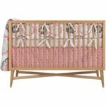 DwellStudio Zinnia Rose 4 Piece Crib Bedding Set