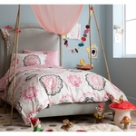 DwellStudio Zinnia Rose Full Duvet Set