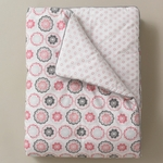 DwellStudio Zinnia Rose Play Blanket