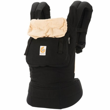 Ergobaby Carrier in Black / Camel