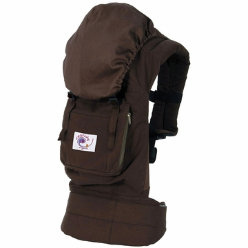 Ergobaby Carrier Organic Dark Chocolate (Old Logo)
