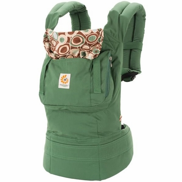 Ergobaby Carrier Organic River Rock Green - D