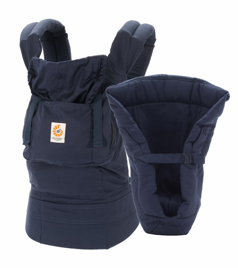 Ergobaby Organic Bundle Of Joy Infant Carrier With Insert