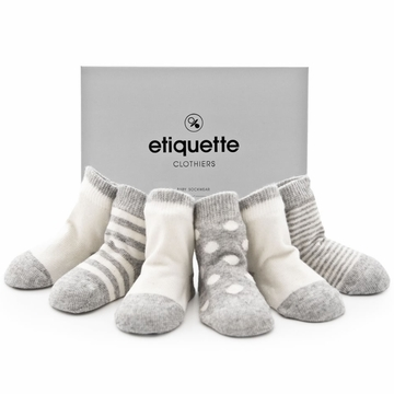 Etiquette Clothiers Cashmere Bundle, Heather Grey