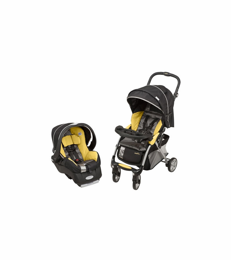 Evenflo Featherlite 400 Stroller With Embrace 35 Car Seat
