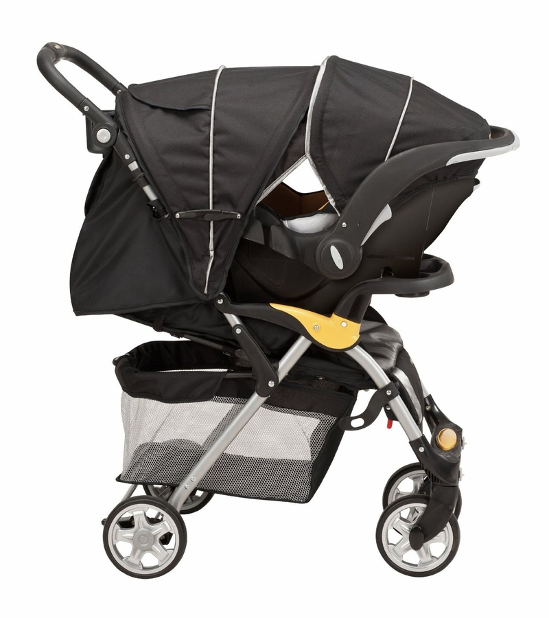Evenflo FeatherLite 400 Stroller with Embrace 35 Car Seat ...