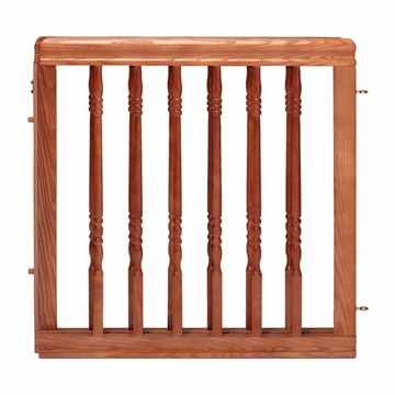 Evenflo Home Decor Wood Swing Gate - Harvest Oak