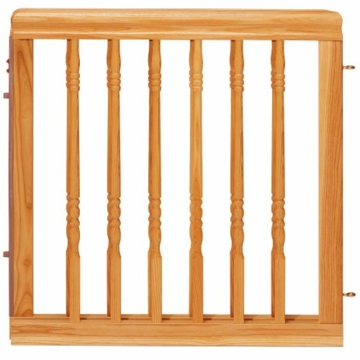 Evenflo Home Decor Wood Swing Gate - Natural Oak