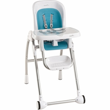 Evenflo Modern High Chair - Trivet Blue