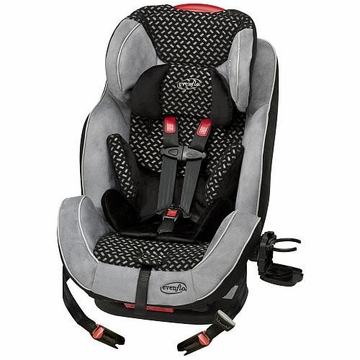 Evenflo Symphony 65 LX All-in-One Car Seat - Graphic Black