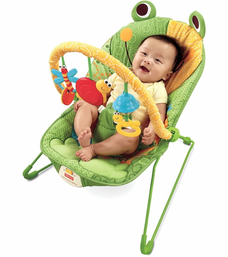 Fisher Price Baby Infant Bouncer Seat Chair in Frog Green : fisher price baby infant bouncer seat chair in frog green 15 from www.albeebaby.com size 800 x 900 jpeg 271kB