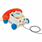 Fisher-Price Classic Pull Toy Chatter Telephone