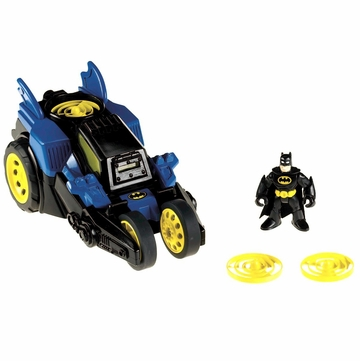 Fisher-Price Imaginext DC Super Friends Motorized Batmobile