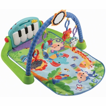 Fisher-Price Kick & Play Piano Gym - Blue