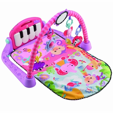 Fisher-Price Kick & Play Piano Gym - Pink