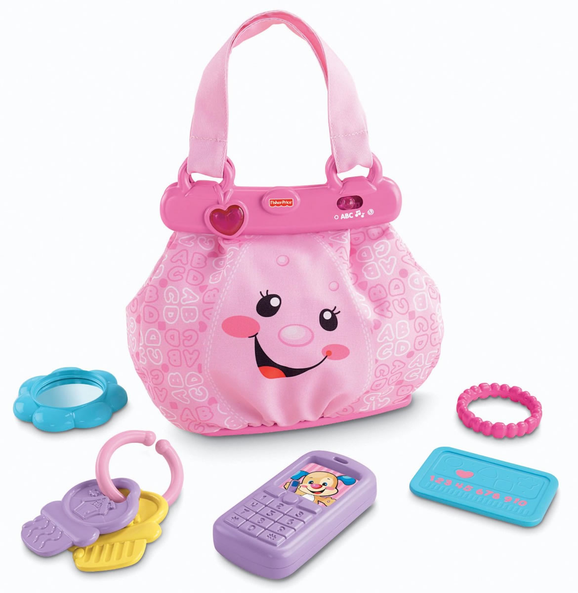 Fisher Price Laugh Amp Learn My Pretty Learning Purse
