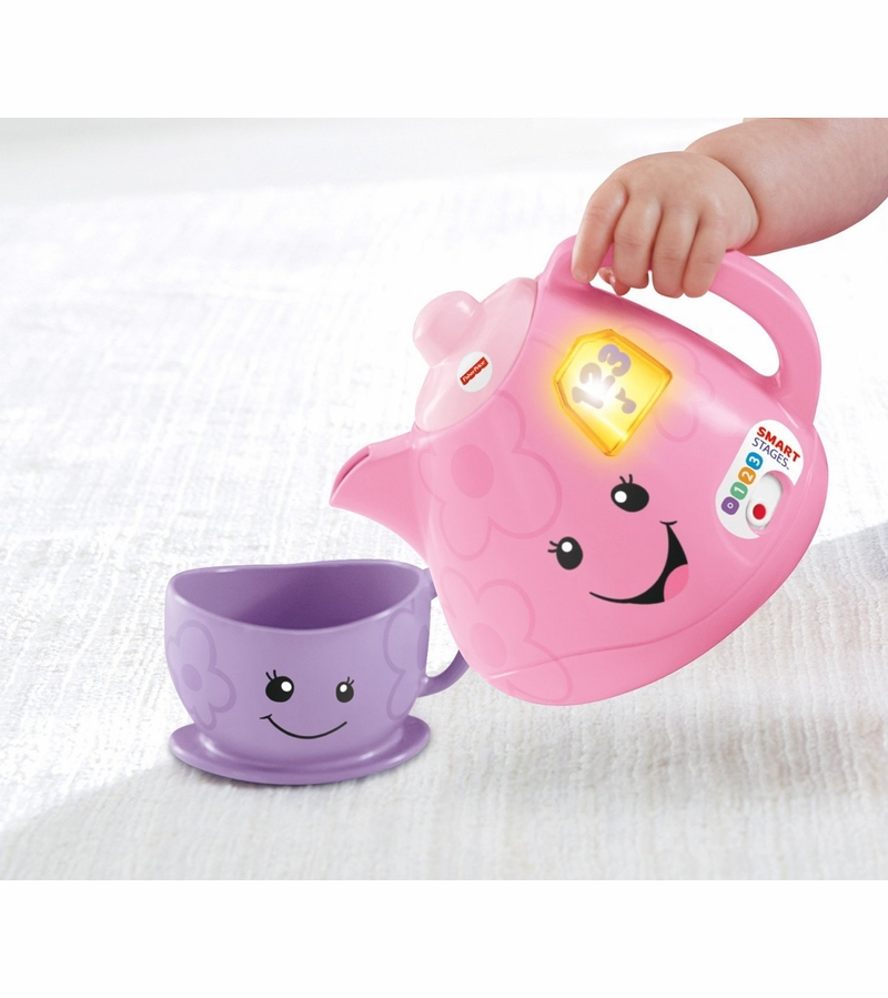 Laugh & Learn Smart Stages Tea Set | CDG07 | Fisher-Price