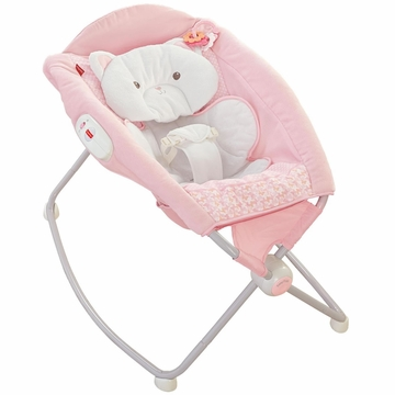 Fisher-Price My Little SnugaKitty Deluxe Newborn Rock 'n Play Sleeper