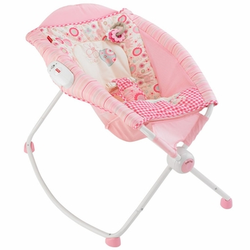 Fisher-Price Newborn Rock 'n Play Sleeper - Pink Giraffe