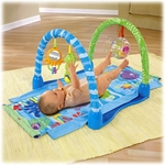Fisher-Price Ocean Wonders Kick & Crawl Aquarium