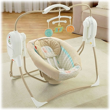 Fisher-Price Power Plus Space Saver Cradle Swing