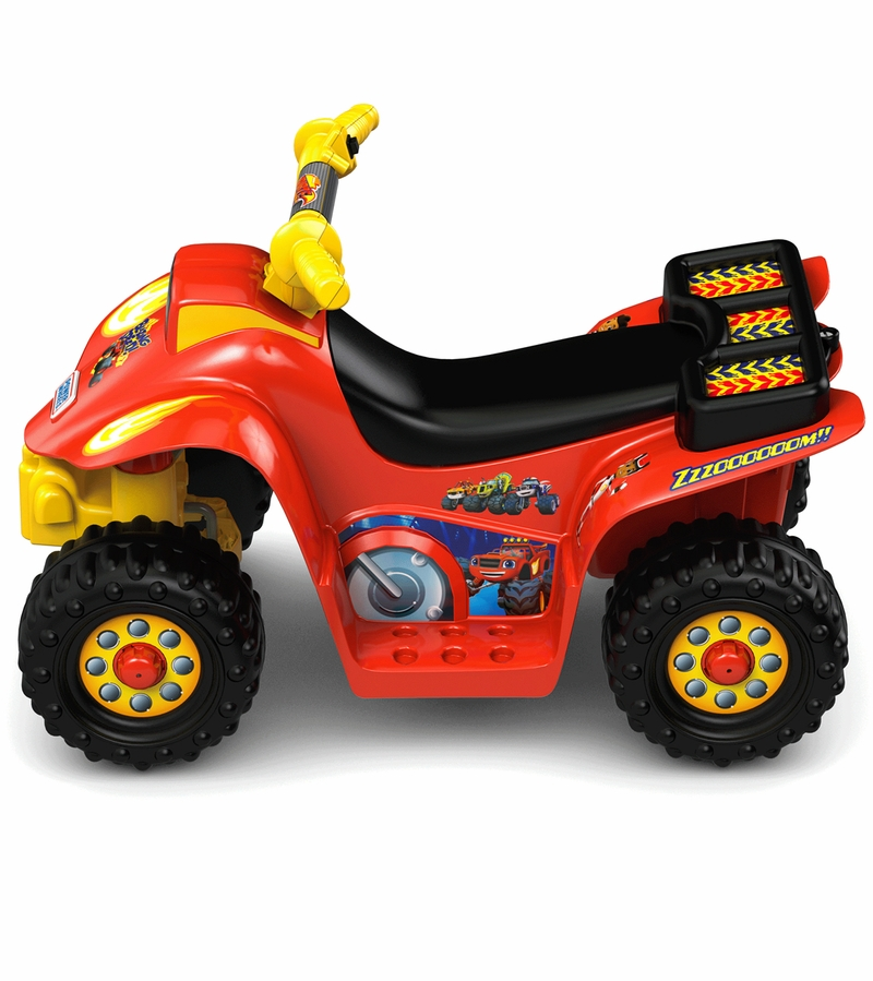 Fisher Price Power Wheels Lil Quad Nickelodeon Blaze And
