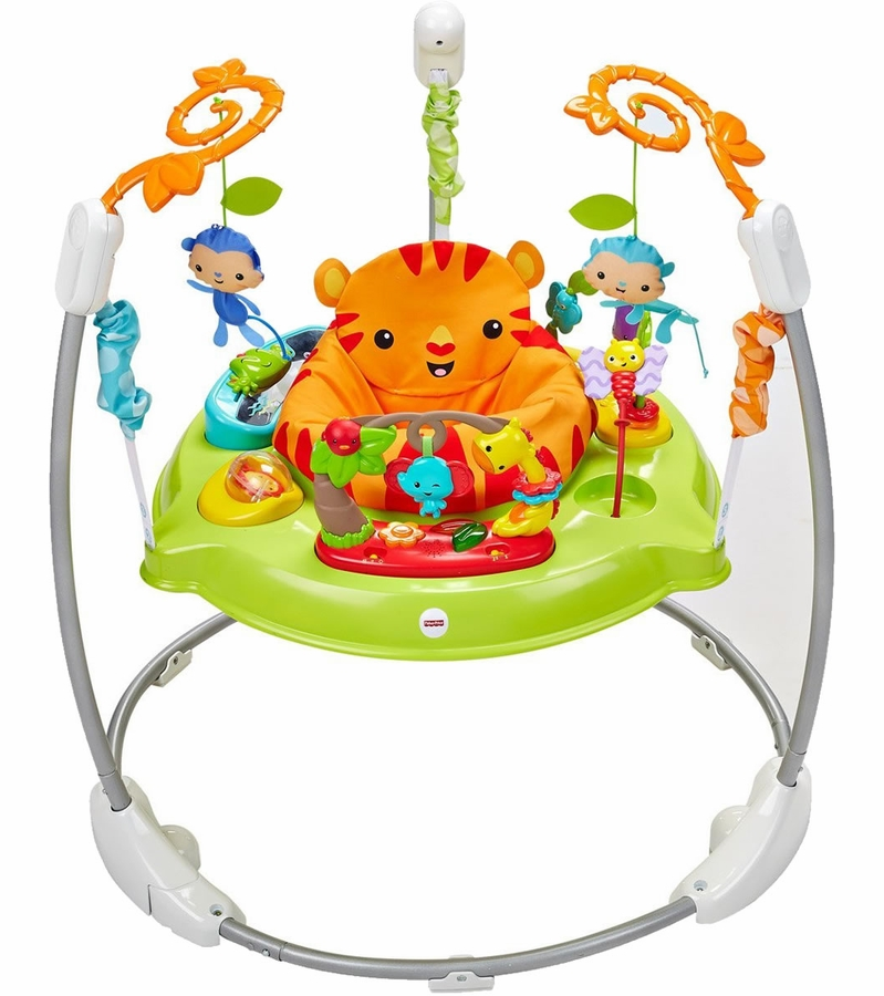 fisher price rainforest jumperoo cleaning instructions