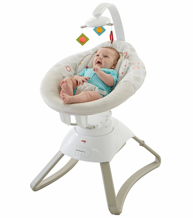 fisher price soothing motions seat manual