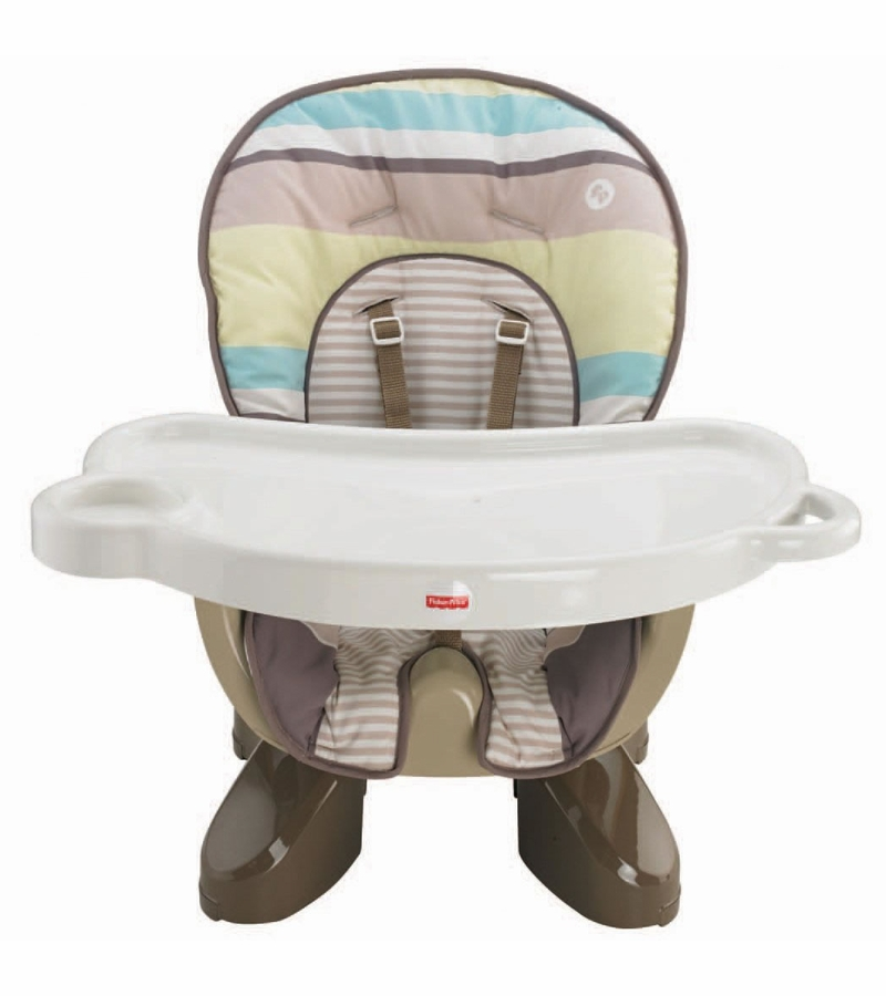 fisher price spacesaver high chair stripes