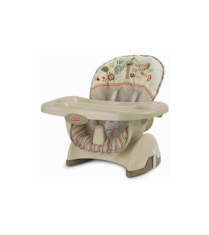 Fisher Price Spacesaver High Chair Woodsy Friends