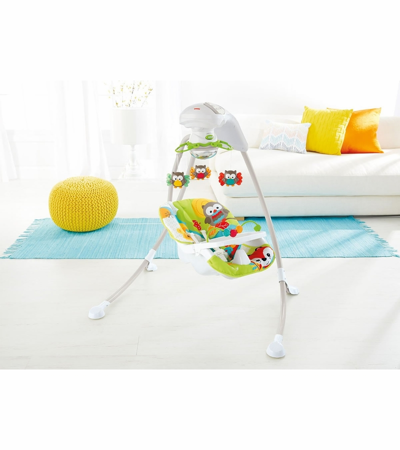 Fisher Price Woodland Friends Cradle N Swing D