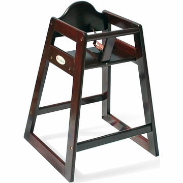 Foundations Classic Wood High Chair in Antique Cherry