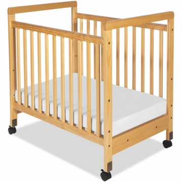 Foundations SafetyCraft Compact Crib - Clearview Ends
