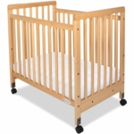 Foundations SafetyCraft Compact Crib - Slatted Ends