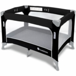 Foundations SleepFresh Celebrity Portable Crib in Graphite