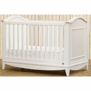 Franklin & Ben Arlington 3-in-1 Convertible Crib with Toddler Rail in White