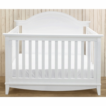 Franklin & Ben Arlington 4-in-1 Convertible Crib with Toddler Rail in White